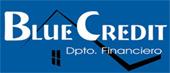 Logotipo del departamento financiero BlueCredit